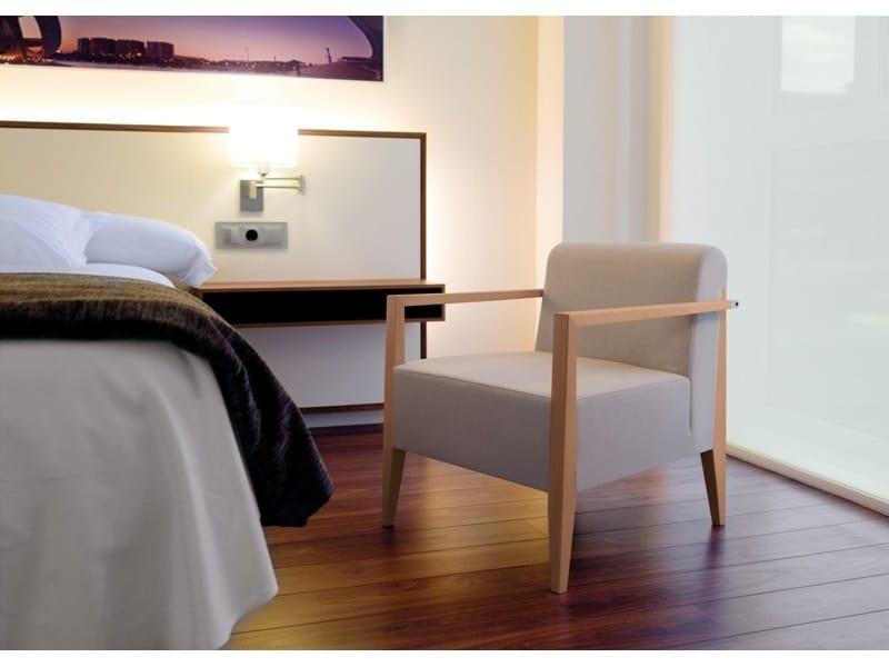 New York 633BM, Poltrona lounge in legno