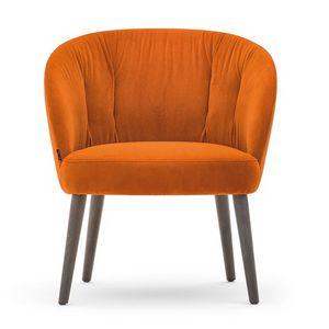 Rose 03070-71-79, Poltrona lounge con seduta bassa