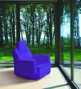 Immagine di Samarcanda poltrona dondolo, sedia-basculante