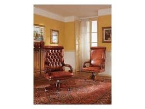 Poltrona Ufficio Elegante : Poltrone presidenziali in pelle per ufficio idfdesign