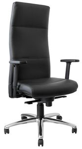 Futura alta, Poltrona presidenziale ufficio, con schienale alto ergonomico