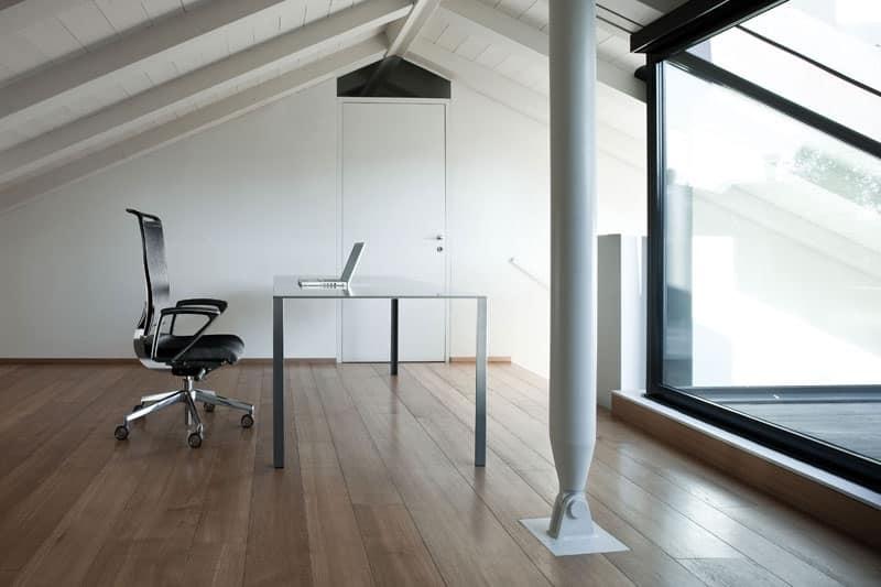 Korium, Sedia operativa con schienale in rete, per ufficio