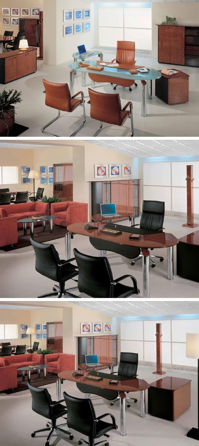 Sistema modulare ufficio ufficio manager idfdesign for Ufficio wall street