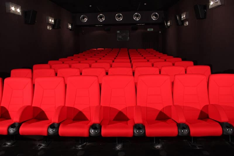 Comfort France, Poltrone ignifughe in stile moderno, per sale cinema