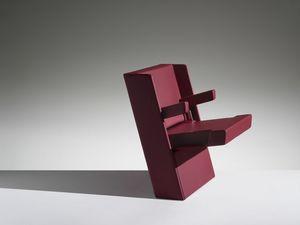 GENYA, Poltrona con sedile richiudibile per auditorium