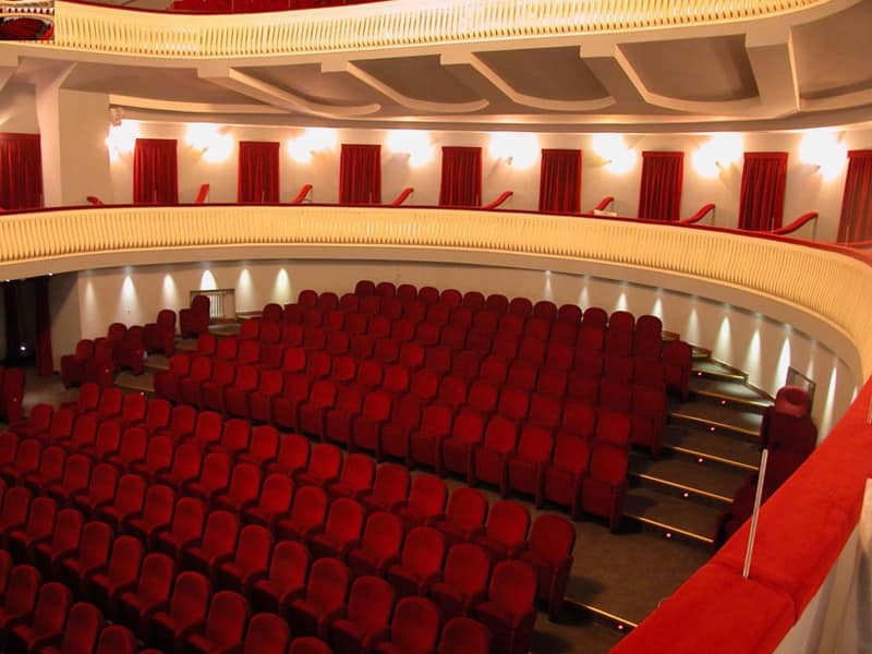 Giada Napoli, Poltrona con sedile ribaltabile, per sale teatro