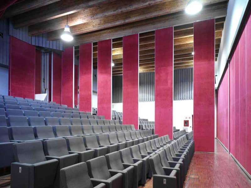 Gonzaga, Poltrone ignifughe per teatro dall'elevato confort e design