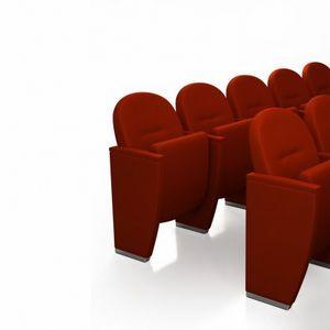METROPOLITAN CLASSIC, Poltrona da teatro classica con sedile ribaltabile