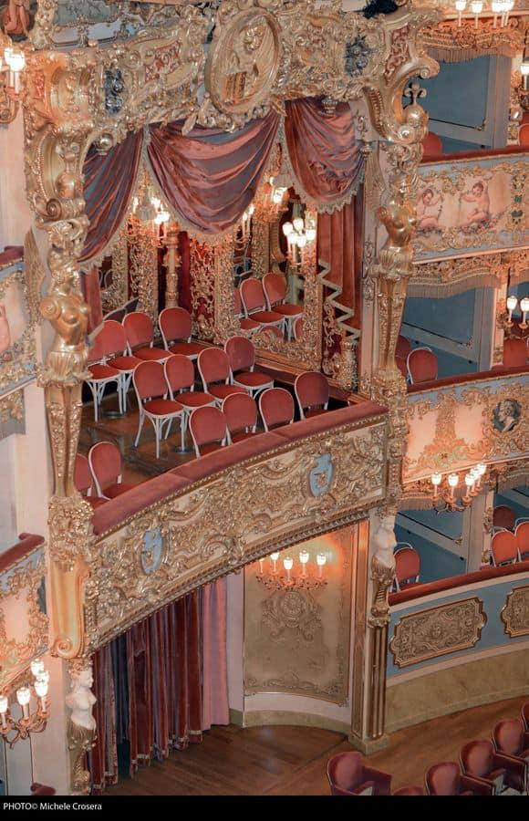 Teatro La Fenice di Venezia, Sedute personalizzate per teatro, La Fenice di Venezia