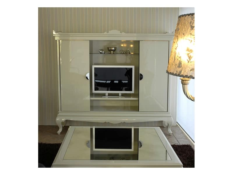 Porta tv in stile contemporaneo per suite d 39 albergo - Porta tv classici ...