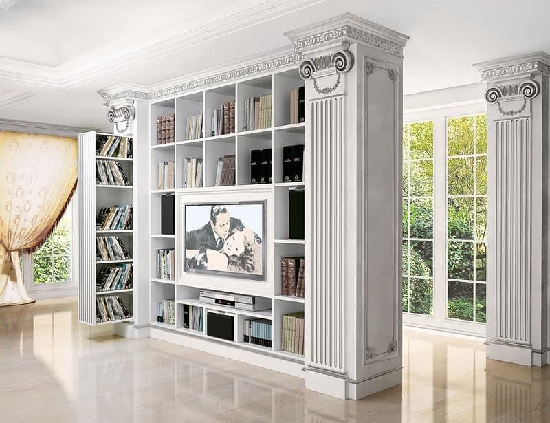 Porta tv per soggiorno classico contemporaneo, per ville | IDFdesign