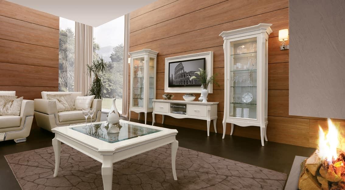 MONTE CARLO / home-theatre Porta TV, Elegante mobile porta tv