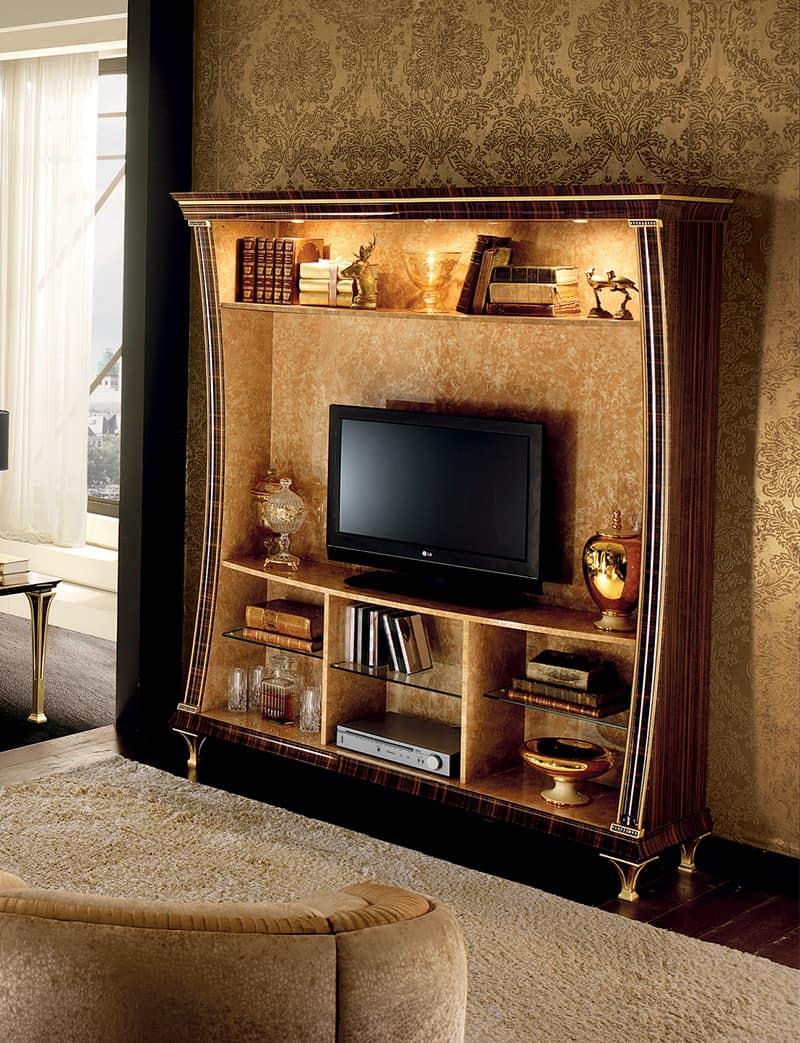 Mobile tv con libreria funzionalit e design idfdesign - Libreria mobile tv ...