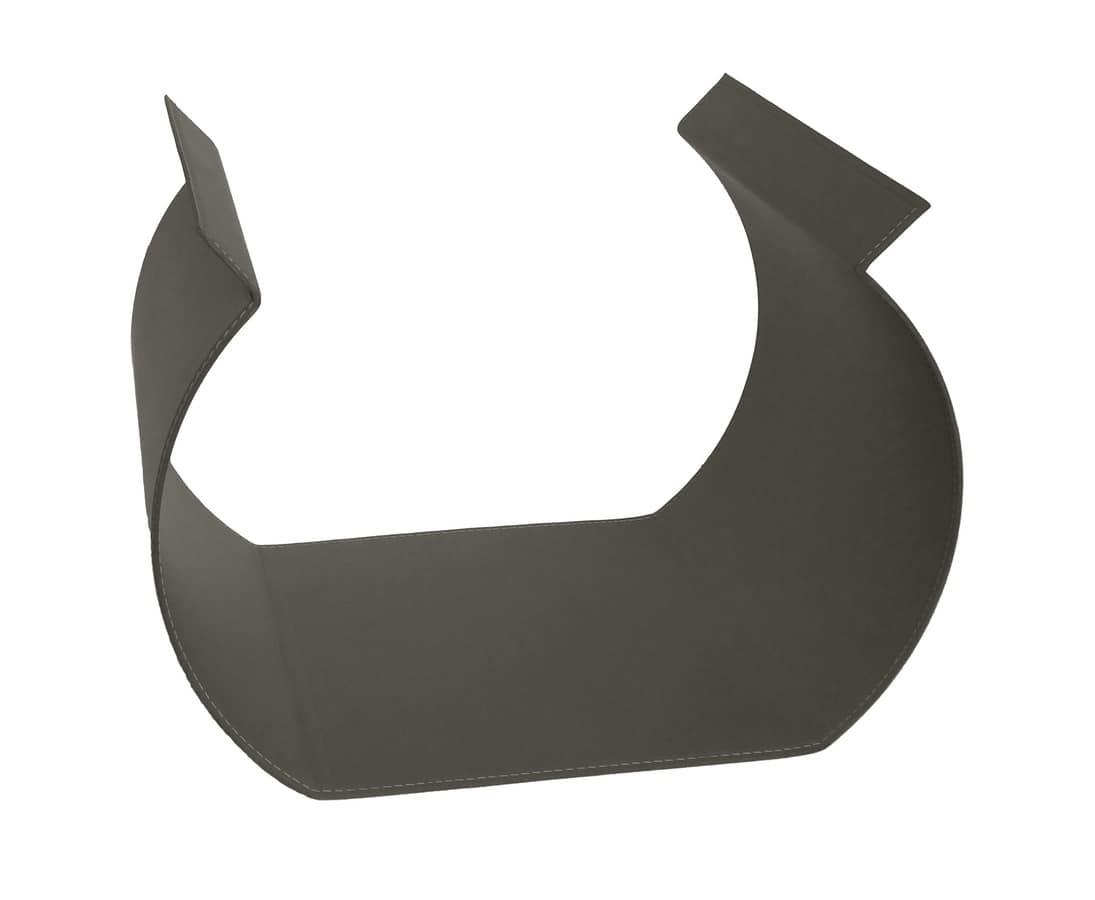 Gamma, Portalegna in acciaio 25/10, ideale per caminetti