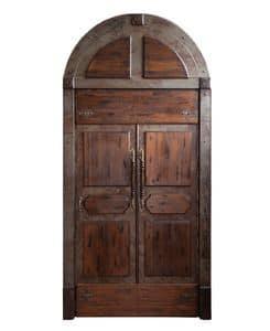 Art. 642, Porta a doppia anta in legno