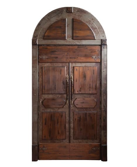 Porta a doppia anta in legno idfdesign for Porta doppia anta