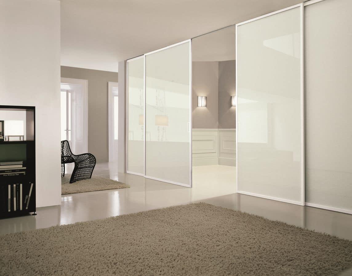 Porte scorrevoli personalizzabili per la casa idfdesign - Porte per la casa ...