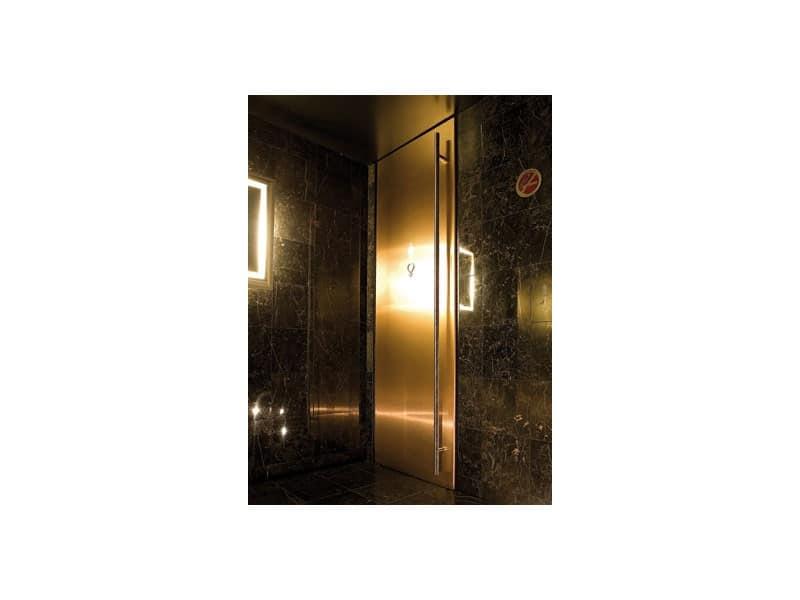 Porte per muratura finitura laccata nera per bagni - Porte per bagni ...