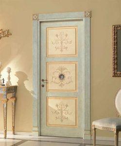 Paestum Art. 755/QQ/P, Porta con decori floreali