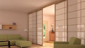 Shoji, Ante e pareti scorrevoli in stile giapponese