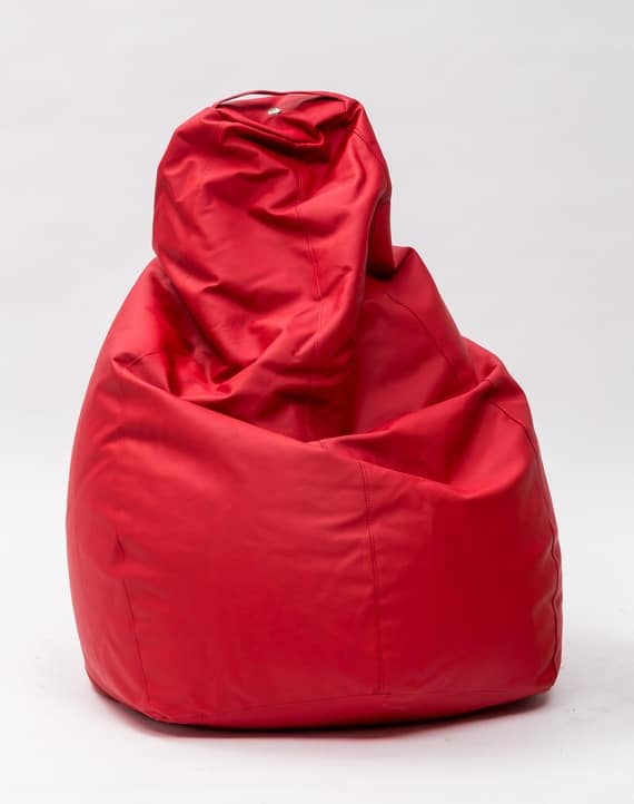 Art. 832 Molly, Pouf a sacco, rivestito in ecopelle sfoderabile