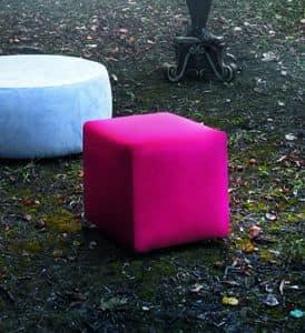 KUBB pouf, Pouf a forma di cubo disponibile con vari rivestimenti