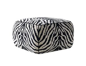 710702 Sebra, Pouf con imbottitura a quote differenziate