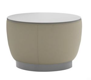 Diadema 04012, Tavolino pouf con piano in legno