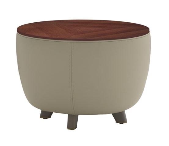 Diadema 04013, Tavolino pouf con piedini