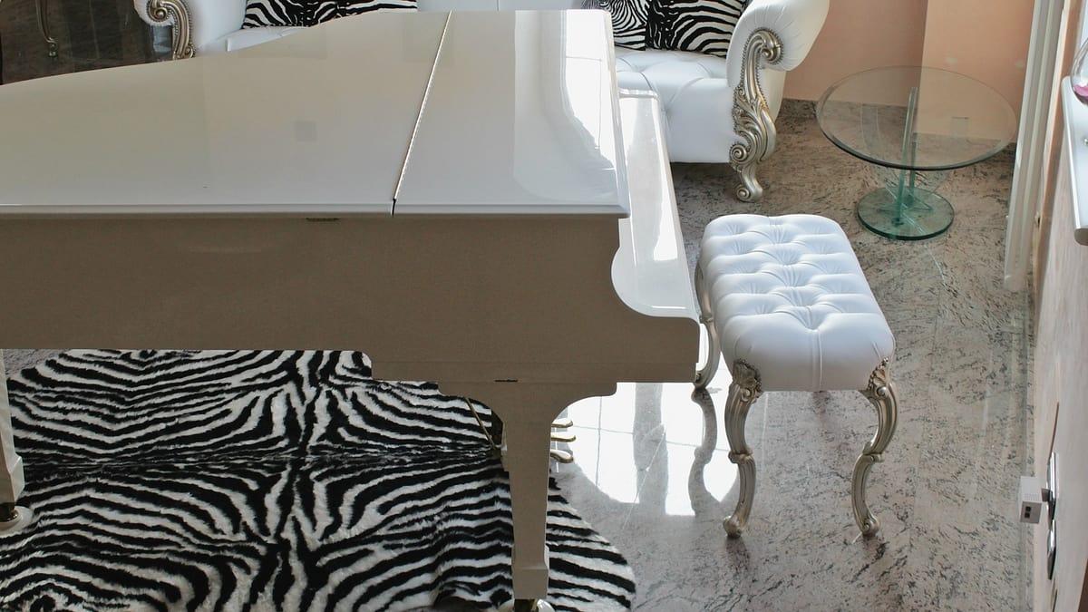 Pouf alto per pianoforte | IDFdesign