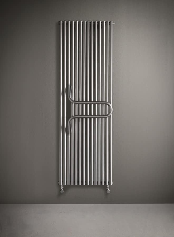 Termosifone da bagno, con maniglione portasalviette | IDFdesign