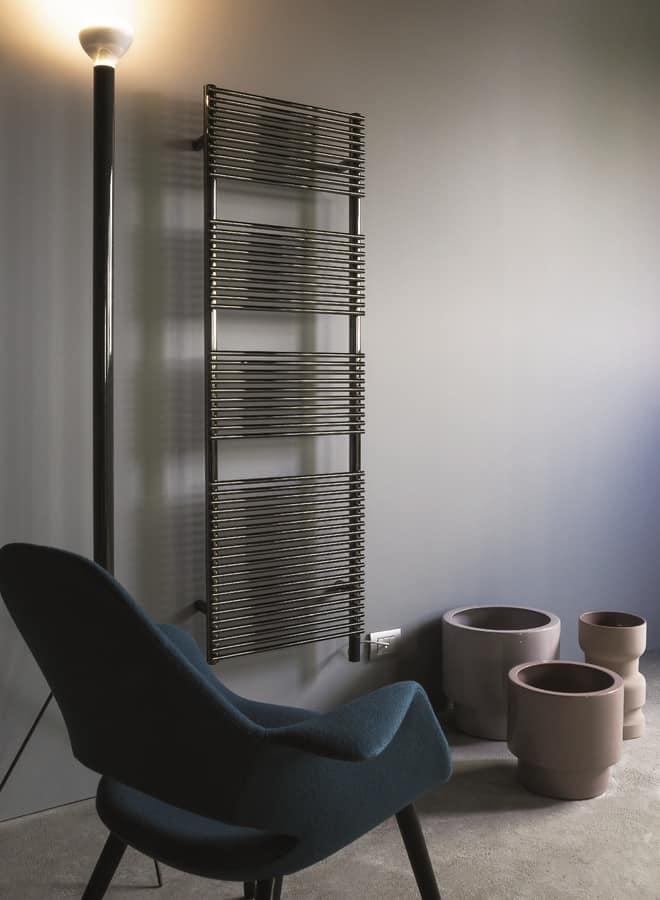 Radiatore per bagni disponibile in vari colori idfdesign - Caloriferi per bagno ...
