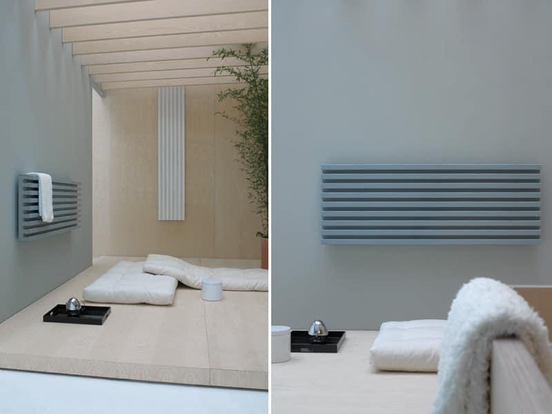 Radiatore a basso consumo energetico dal design discreto - Riscaldamento bagno basso consumo ...