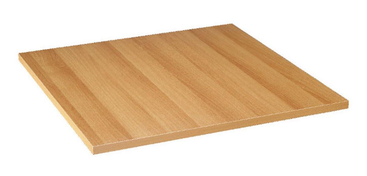 Piano tavolo in nobilitato melaminico noce chiaro ciliegio, Piano tavolo in nobilitato melaminico noce chiaro ciliegio