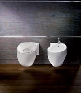 ACCENT WC BIDET, Sanitari con forma originale