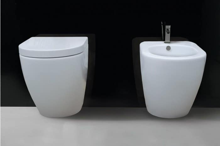 Wc con bidet realizzati in ceramica di prima qualit for Wc con bidet