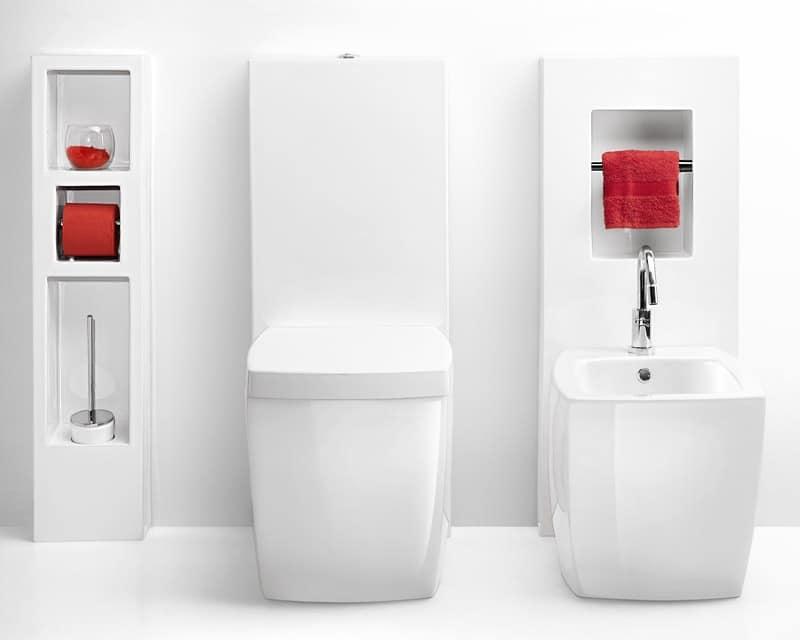 Sanitari monoblocco con cisterna in ceramica | IDFdesign