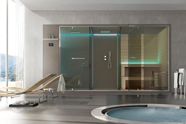 Hammam spazio doccia sauna ethos for Ethos arredamenti