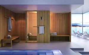 HITA, Sauna per bagno moderno, in legno, innovativa e funzionale