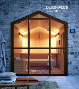 HSH, Sauna a forma di casa, per area fitness