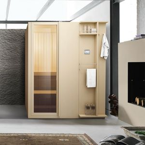 Talìa, Sauna finlandese, con cromoterapia con LED, per spa