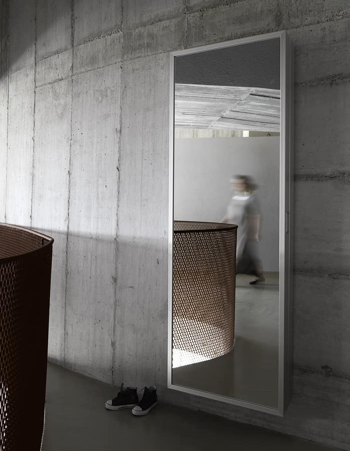 Specchio scarpiera con estetica minimale design | IDFdesign