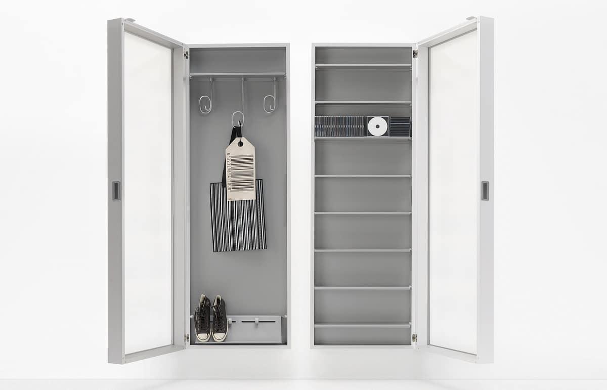 Specchio scarpiera con estetica minimale design   IDFdesign