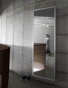 Box, Specchio scarpiera con estetica minimale design