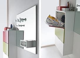 Idrocolor 04, Mobili per scarpe Antibagno - IDFdesign