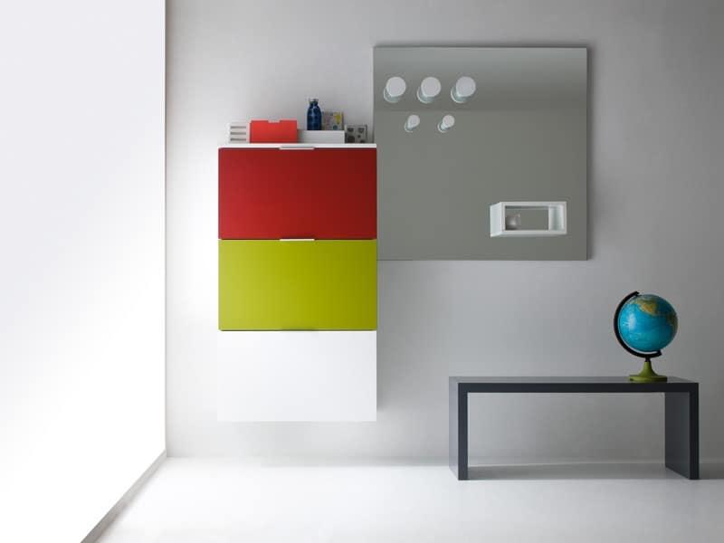 Scarpiera moderna design design per la casa aradz