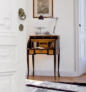 DELFINO Art. 4268, Scrittoio laccato, stile classico, per studio e casa
