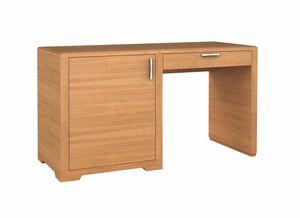 Eleganza scrivania minibar SX, Scrivania per albergo, con vano per frigobar