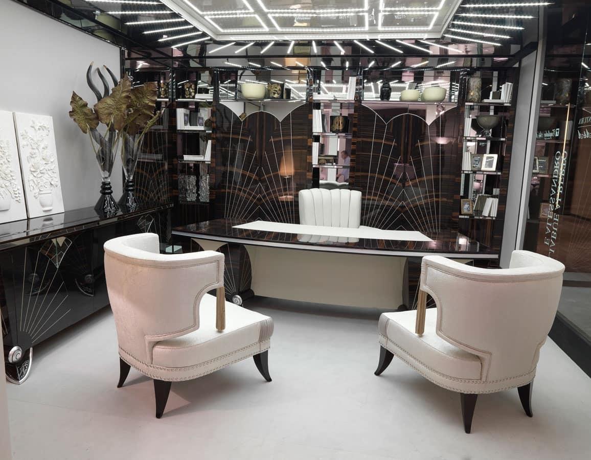 Ufficio Di Lusso : Scrivania classica di lusso per eleganti uffici idfdesign