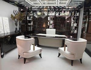 15F103, Scrivania classica di lusso per eleganti uffici